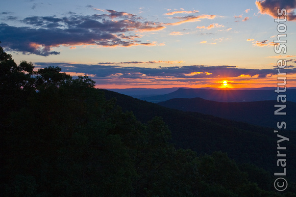 An Appalachian Sunset